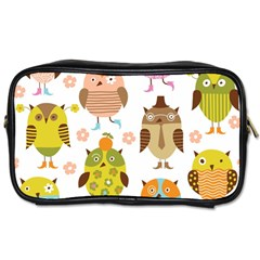 Highres Owls Toiletries Bags 2-Side