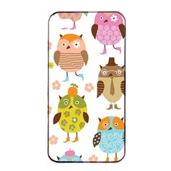 Highres Owls Apple iPhone 4/4s Seamless Case (Black)