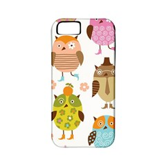 Highres Owls Apple iPhone 5 Classic Hardshell Case (PC+Silicone)