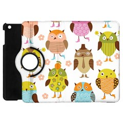 Highres Owls Apple iPad Mini Flip 360 Case