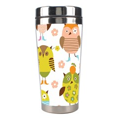 Highres Owls Stainless Steel Travel Tumblers