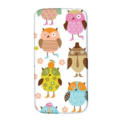 Highres Owls Samsung Galaxy S4 I9500/I9505  Hardshell Back Case