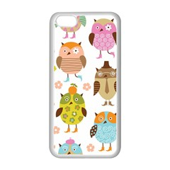 Highres Owls Apple iPhone 5C Seamless Case (White)