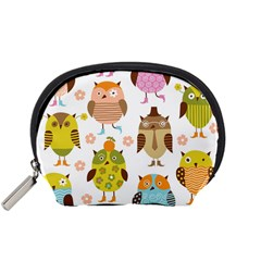 Highres Owls Accessory Pouches (Small)
