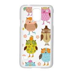 Highres Owls Samsung Galaxy S5 Case (White)