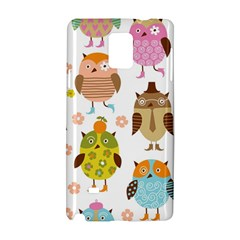 Highres Owls Samsung Galaxy Note 4 Hardshell Case