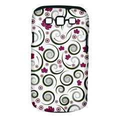 Leaf Back Purple Copy Samsung Galaxy S III Classic Hardshell Case (PC+Silicone)