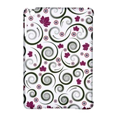 Leaf Back Purple Copy Apple iPad Mini Hardshell Case (Compatible with Smart Cover)