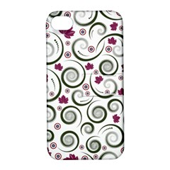 Leaf Back Purple Copy Apple iPhone 4/4S Hardshell Case with Stand