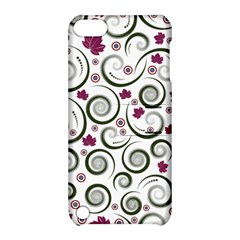Leaf Back Purple Copy Apple iPod Touch 5 Hardshell Case with Stand