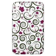 Leaf Back Purple Copy Samsung Galaxy Tab 3 (8 ) T3100 Hardshell Case