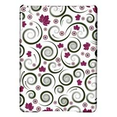 Leaf Back Purple Copy iPad Air Hardshell Cases