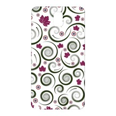 Leaf Back Purple Copy Samsung Galaxy Note 3 N9005 Hardshell Back Case