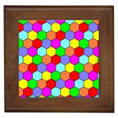 Hexagonal Tiling Framed Tiles