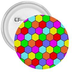 Hexagonal Tiling 3  Buttons