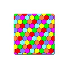 Hexagonal Tiling Square Magnet