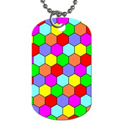 Hexagonal Tiling Dog Tag (Two Sides)