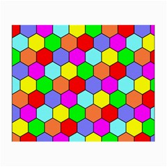 Hexagonal Tiling Small Glasses Cloth