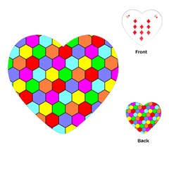 Hexagonal Tiling Playing Cards (Heart)