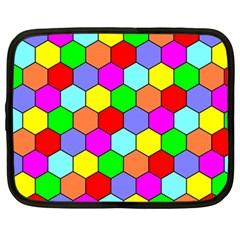 Hexagonal Tiling Netbook Case (large)