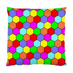 Hexagonal Tiling Standard Cushion Case (One Side)