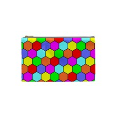 Hexagonal Tiling Cosmetic Bag (Small)