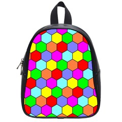 Hexagonal Tiling School Bags (Small)