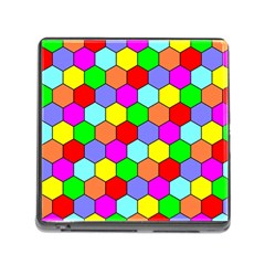 Hexagonal Tiling Memory Card Reader (Square)