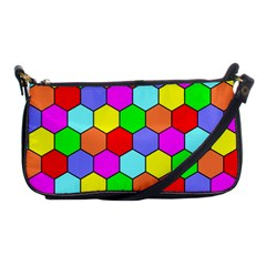 Hexagonal Tiling Shoulder Clutch Bags