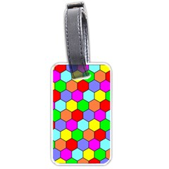 Hexagonal Tiling Luggage Tags (Two Sides)