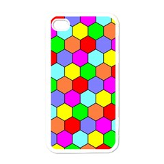 Hexagonal Tiling Apple iPhone 4 Case (White)