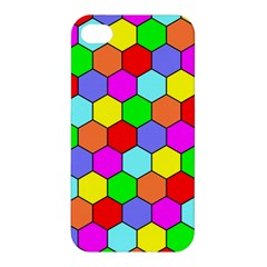 Hexagonal Tiling Apple iPhone 4/4S Premium Hardshell Case