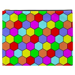 Hexagonal Tiling Cosmetic Bag (XXXL)