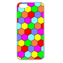 Hexagonal Tiling Apple Seamless iPhone 5 Case (Clear)