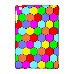 Hexagonal Tiling Apple iPad Mini Hardshell Case (Compatible with Smart Cover)