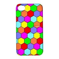 Hexagonal Tiling Apple iPhone 4/4S Hardshell Case with Stand