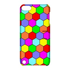 Hexagonal Tiling Apple iPod Touch 5 Hardshell Case with Stand