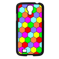 Hexagonal Tiling Samsung Galaxy S4 I9500/ I9505 Case (Black)