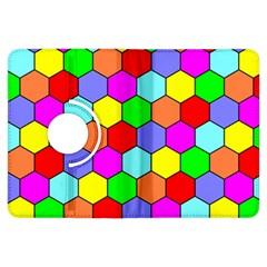 Hexagonal Tiling Kindle Fire HDX Flip 360 Case