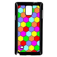 Hexagonal Tiling Samsung Galaxy Note 4 Case (Black)