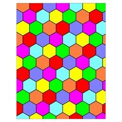 Hexagonal Tiling Drawstring Bag (Large)
