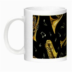 Instrument Saxophone Jazz Night Luminous Mugs