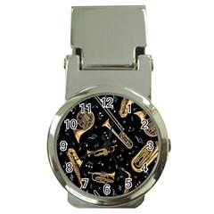 Instrument Saxophone Jazz Money Clip Watches