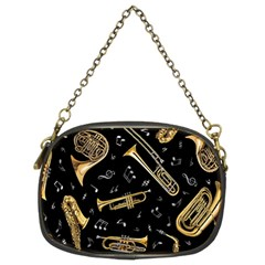 Instrument Saxophone Jazz Chain Purses (Two Sides)