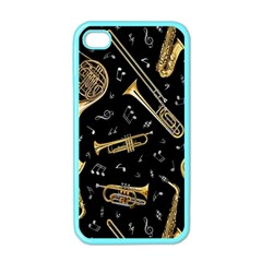 Instrument Saxophone Jazz Apple iPhone 4 Case (Color)