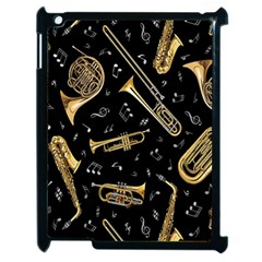 Instrument Saxophone Jazz Apple iPad 2 Case (Black)