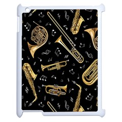Instrument Saxophone Jazz Apple iPad 2 Case (White)