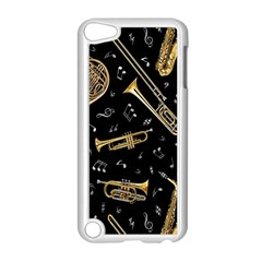Instrument Saxophone Jazz Apple iPod Touch 5 Case (White)