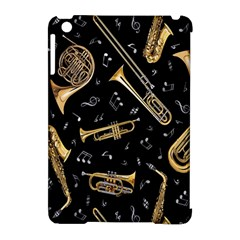 Instrument Saxophone Jazz Apple iPad Mini Hardshell Case (Compatible with Smart Cover)