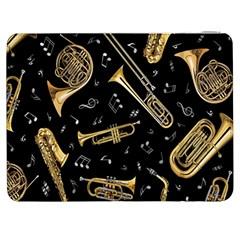 Instrument Saxophone Jazz Samsung Galaxy Tab 7  P1000 Flip Case